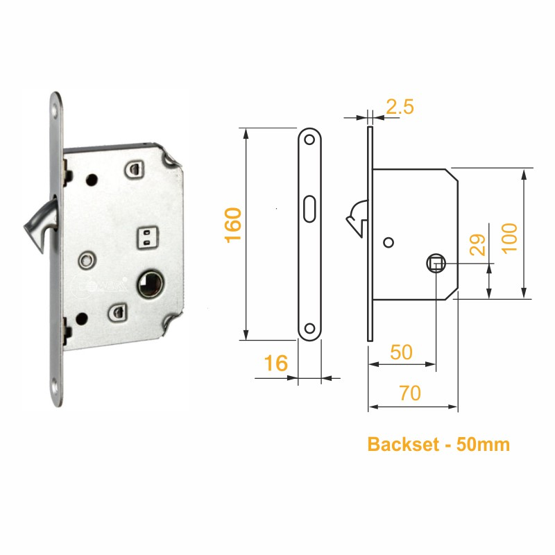 Pocket Door Bathroom Lock