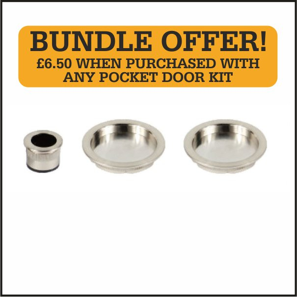 Round Flush Pull Set Bundle