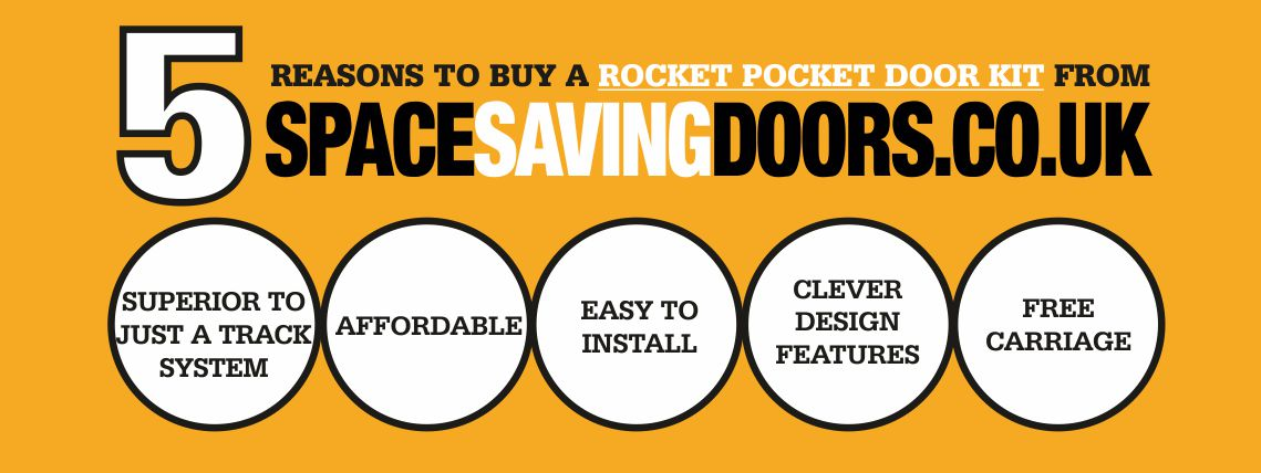 5 Reasons to buy from SpaceSavingdoors
